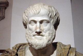 imagem busto de Aristóteles