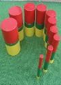 cilindros coloridos
