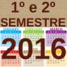 ícone primeiro e segundo semestre de 2016