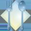 ícone de acesso à alimentação