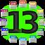 ícone ano de 2013