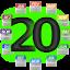 ícone ano 2020