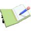 ícone de acesso ao caderno de expectativas
