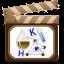 Ícone cinema e quimica