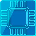 ícone computação física