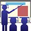 Ícone formação de docentes