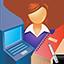 Ícone de cursos profissionalizantes NRE Cascavel