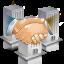 ícone empresas parceiras