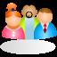 ícone equipe multidisciplinar