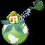 ícone escola sustentável