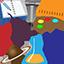 ícone educação integral turno único
