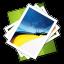 ícone para acessar lista de imagens