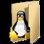 ícone de acesso ao linux educacional