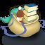 icone com imagem de dois livros