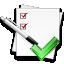 ícone provas e conteúdos