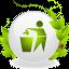 ícone reciclagem