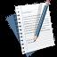 ícone de redação
