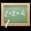 Ícone de resolução de problema matemático