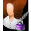 icone sobre a autora