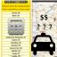 Ícone Tarifa de Táxi