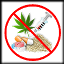 ícone tema é drogas