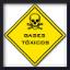 ícone gases tóxicos