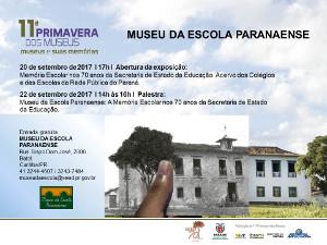 convite 11º Primavera dos Museus