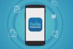 Imagem de acesso ao aplicativo Escola Paraná