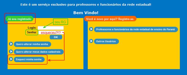 Cadastro de Usuários no Portal