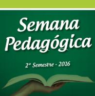 Semana Pedag�gica julho de 2016