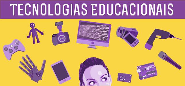Banner da página de Tecnologias Educacionais
