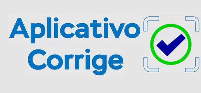 Banner com acesso ao Aplicativo Corrige