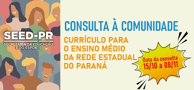 Participe da consulta à comunidade
