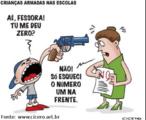 A onda de violência que atinge escolas no Brasil também é vista em outras partes do mundo. Nos últimos tempos, casos de jovens assassinados em nossas escolas se alternam com notícias de matanças múltiplas em colégios norte-americanos. Há notícias de agressões também contra professores.
