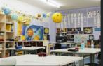 Típica sala de aula na Alemanha.
