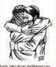 """A imagem apresenta representantes de dois povos: os palestinos e os judeus os quais encontram-se em confronto que apresenta raízes remotas.  Na Antigüidade, a Palestina era a terra dos hebreus, povo famoso pelo caráter monoteísta de sua religião, que influenciou o cristianismo e o islamismo. Os hebreus acabaram se dividindo em dois reinos: Israel (o qual foi conquistado por outros povos e acabou miscigenando sua população) e Judá (os atuais judeus vêm deste reino).  Mais tarde, a Palestina e os judeus caíram sob a dominação do Império Romano – época em que Cristo nasceu. Os judeus ansiavam por liberdade, mas acabaram, no início da Era Cristã, expulsos da região por Roma – é a chamada Diáspora Judaica.  Daí em diante, os judeus viram um povo errante, vagando pelo mundo, sem pátria e alvo de um profundo preconceito, o denominado anti-semitismo. Mesmo assim, conseguiram manter suas tradições culturais. Séculos depois da queda do Império Romano (476), a Palestina foi invadida pelos persas e depois pelos árabes (século VIII). Em 1516, a região passou a fazer parte do Império Turco-Otomano. Assim, a Palestina se transformou numa área onde a maior parte da população era árabe (ali chamados de palestinos) e professava como religião o islamismo.  Com o fim da I Guerra Mundial (1914-18), a Palestina caiu sob o jugo da Inglaterra, que passou a prometer a criação de um """"lar para os judeus"""" na área – era a Declaração de Balfour. Já desde o final do século XIX tinha surgido o Movimento Sionista, pelo qual os judeus passaram espontaneamente a regressar à região com a intenção de, no futuro, criar sua pátria.  O maior ato de selvageria do anti-semitismo deu-se na II Guerra Mundial (1939-45), quando os nazistas mataram mais de 6 milhões de judeus no holocausto.  A CRIAÇÃO DE ISRAEL - Nesse contexto, a ONU aprovou finalmente uma pátria para os judeus na região, o Estado de Israel, em 1948, bem como um estado para o povo palestino, fato que intensificou o conflito entre os povos dista"""