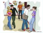 """""""Com a intensificação do processo de intelectualização e do pensamento abstrato, acontecem os questionamentos dos valores familiares e da comunidade. É comum acontecer uma crise religiosa ou de valores, afinal novas influências e tendências se apresentam na cabeça da criatura. O perigo neste momento é o famoso pensamento """"mágico"""" (fantasias de poder absoluto). Se o adolescente viaja no seu desejo, principalmente o de reconhecimento social, pode pintar uma propensão a atuações sociais ( inclusive transgressões), desencadeando dificuldades e problemas, que podem ir do abuso de drogas, à gravidez prematura, à contaminação com DSTS, chegando até à privação da liberdade.  A adolescência afinal não é só um período de desenvolvimento físico e psicológico, é também uma fase de absorção dos valores socioculturais da comunidade, e de elaboração de projetos pessoais que impliquem, em plena interação social e afetiva. Quando o bebê rechonchudo se transforma naquele menino magrelo, de jeitos estranhamente familiares, os pais se inquietam entre a rejeição e o reconhecimento: o adolescente nos espelha, mostrando a importância de rever valores e paradígmas, de exercitar a tolerância, de insistir no dialogo e no respeito mútuo e acima de tudo investir no recurso do amor.""""   por Tânia Costa Duplatt, Psicóloga, Psicanalista, Consultora e Pesquisadora em adolescência e Desenvolvimento Humano, e Coordenadora do Programa """"Oficinas Culturais sobre a Adolescência, realizado desde 1997 nas Bibliotecas Públicas de Salvador."""