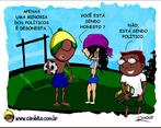 Charge de Otávio Rios sobre política.