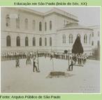 Dentre as modalidades esportivas de 1908, o salto com vara tinha bastante adeptos.