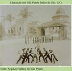 Vale cabo de guerra na educação física? Pelo visto, em 1908, sim.