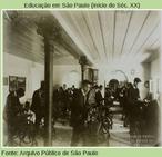 Normalistas em 1908.