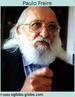 Paulo Reglus Neves Freire (1921-1997) advogado e educador brasileiro, se opôs aos privilégios das classes dominantes, as quais impedem a maioria de usufruir os bens produzidos pela sociedade. A educação, segundo Freire, deveria passar necessariamente pelo reconhecimento da identidade cultural do aluno, sendo o diálogo a base de seu método.