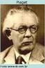 """Jean Piaget (1896-1980), biólogo e Psicólogo suíço, desenvolveu a teoria """"epistemologia genética"""", que diz que a partir do nascimento os seres humanos são submetidos a fases de desenvolvimento cognitivo, descrevendo quatro estágios de desenvolvimento: sensório, pré-operacional, operacional concreto e operacional formal. Ele acreditava que essas etapas devem ser preenchidas de forma linear e que o conhecimento foi construído pelo indivíduo por meio da ação. Portanto, o meio ambiente e os conhecimentos inatos ou não influenciaram nesta evolução. Seu trabalho foi em grande parte observacional e ele é creditado com o uso de termos como assimilação e acomodação."""