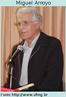 Miguel González Arroyo é sociólogo e educador espanhol, foi professor da UFMG e atualmente acompanha propostas educativas em várias redes estaduais e municipais do país. Suas ideias estão relacionadas à educação popular, cultura escolar, gestão escolar, educação básica e currículo.