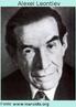 Alexei N. Leontiev (1904 - 1979)psicólogo russo. De 1924 a 1930, trabalhou com L.S.Vigotski. Estudou a memória e a atenção deliberadas, e desenvolveu sua própria teoria da atividade que ligava o contexto social com o desenvolvimento. Alexei Leontiev formulou o conceito de atividade como formação sistemática e unidade de análise para as ciências humanas.
