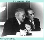 Luria foi convidado, em 1924, a se juntar ao corpo de jovens cientistas do recém criado Instituto de Psicologia de Moscou. Lá se associou a Aléxis Leontiev com o objetivo de estudar as bases materiais do fenômeno humano, usando basicamente as concepções pavlovianas.  Foto da década de 70.