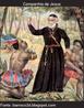 """""""Uma ação que marcou o movimento da Contra-Reforma foi a criação das ordens religiosas. A mais importante delas foi a Companhia de Jesus, criada pelo clérigo Inácio de Loyola, fundada em 1540. Seu papel foi de grande importância na conversão religiosa dos povos colonizados no continente americano."""""""