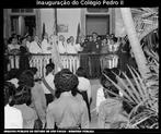 Foto da Inauguração do Colégio Pedro II, em 20/03/1952.