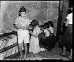 Foto de uma escola pública (Meier Biblioteca) de setembro de 1951.