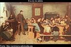 A escola da aldeia, em 1848, pintura de Albert Anker.
